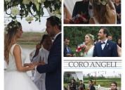 Coro y música para matrimonios en lima coro angeli