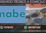 Inmediatos! 981091335 técnicos de lavadoras mabe