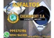 Venta de asfalto rc-250, asfalto liquido mc-30