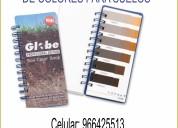 Globe profesional libro de colores para sueles