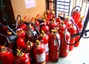 Recarga de extintores, fumigación, lavado de tanqu
