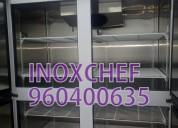 Camara de 04 puertas conservación inoxchef