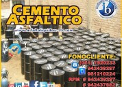 Gran venta de cemento asfaltico pen 85/100 - 60/70