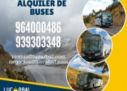 Alquiler de buses en huancavelica