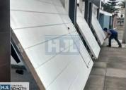 Mantenimiento e instalación de puerta de garaje