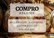 Compro relojes antiguos, mecánicos, automáticos