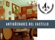 Compro muebles de estilo, cuadros coloniales, arte