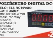 Camaras de videovigilancia y voltimetros digitales