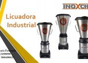 Licuadora industrial inoxchef (stock)