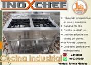 Somos fabricantes de cocinas industriales inoxchef