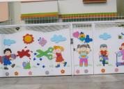 decoracion  y letreros de nidos ,colegios