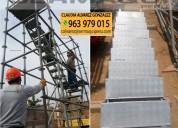 Escaleras de acceso, venta