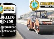 Asfaltos rc -250 breas solidas cilindros de 55 gln