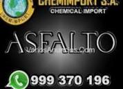Atencion lima y provincias!! buen precio asfalto r