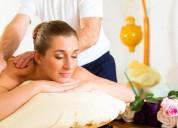 Masajes antistress relajantes para damas