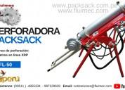 MÁquina perforadora neumatica packsack fl-50