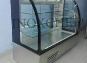 Vitrinas Exhibidoras Refrigeradas y cale INOXCHEF