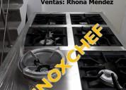 Entrega inmediata. cocina industrial 03 hornillas