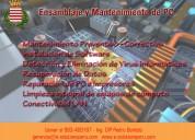 mantenimiento de pc e instalación de redes lan