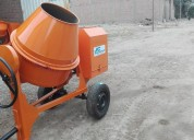 Mezcladora concreto tolva 9p3 motor gasolina kohle