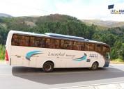 Alquiler de camionetas y buses en moquegua