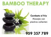 Centro de masajes bamboo therapy lima perú