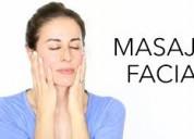 Masajes faciales para damas.