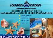 Reparacion de jacuzzi, saunas