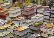 Compro toda clase de libros en general.