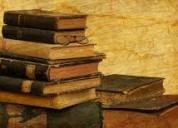 Compro libros de toda clase en general