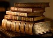 Compro y adquiero libros de toda clase en general.
