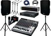 alquiler de equipo de sonido y micrófonos tacna:
