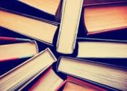 Compro libros de toda clase a buen precio.