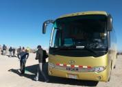 Bus turistico  nacional