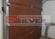 Puertas de garaje levadizas seccionales corredizas especialistas silver 944437627