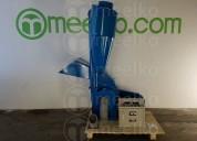 Molino triturador meelko de biomasa hasta 700 kg