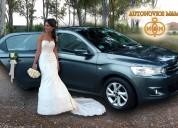 Alquila elegante auto para matrimonio en lima