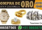 Compro oro de todo kilate buen precio joya de mina