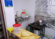 Se alquila restaurante amoblado 1000 s/. smp