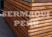 Paneles de madera para encofrado vertical muro