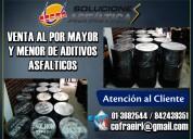 Venta de asfalto liquido mc 30 a nivel nacional