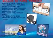 Contometros de papel termico