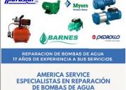 Reparacion de bombas de agua myers tlf 4465853