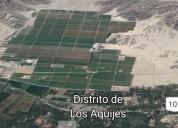 Vendo terrenos agrícolas en ica
