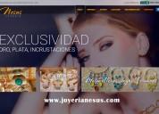 Joyería nexus - joyería en plata y oro e incrustac