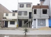 Casa de 4 pisos para negocio villa el salvador