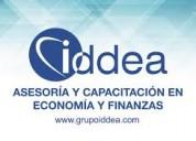 Capacitacion en economia y finanzas con grupo idde