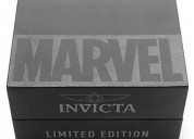 Reloj invicta marvel punisher speedway edition ltd