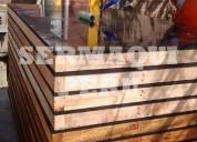 Paneles de madera para encofrado con fenolicos