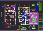 Planos para vivienda, los portales, centenario